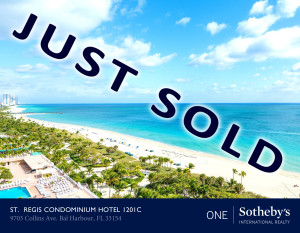St Regis Just Sold